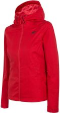 czerwono czarna kurtka damska 4f