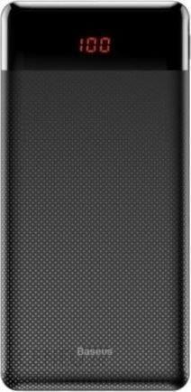 Baseus Mini Cu 10000Mah 2xUSB Czarny (PPALLAKU01)