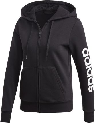adidas Essentials Linear Full Zip Fleece Hoodie (DP2417)