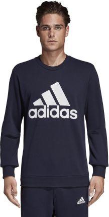 Adidas Performance Must Haves Badge Of Sport Bluza Niebieski