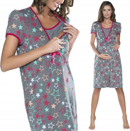 793aaa7d5d967e Italian Fashion Koszula do Karmienia Alla M - Szara - Ceny i opinie ...
