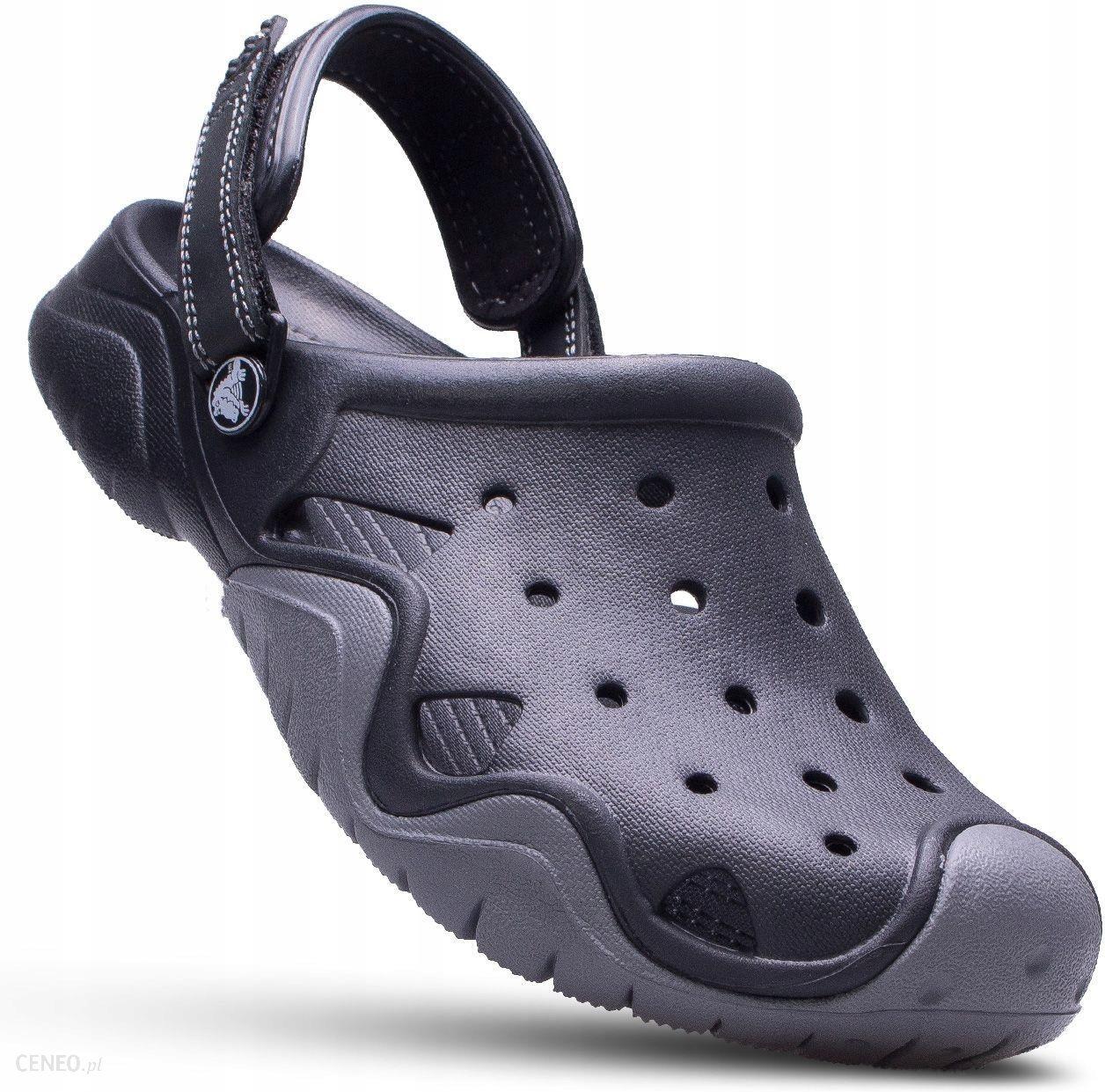 Nowy Jork dostępność w Wielkiej Brytanii Stany Zjednoczone Crocs sandały klapki męskie buty Swiftwater czarne
