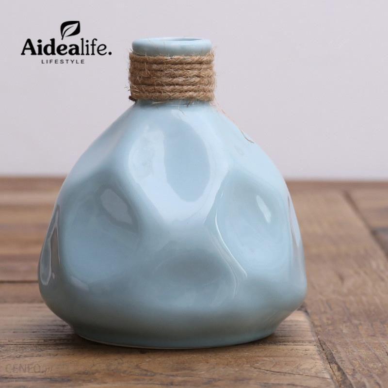 Aliexpress Chińskie Niebieskie I Białe Wazony Akcesoria Do Dekoracji Domu Nowoczesne Abstrakcyjne Sztuki Ceramicznej Roślin Pojemnik Przyjacielowi Pre