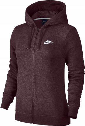 02289d13f Nike Bluza Damska W NSW HOODIE FZ FLC - 853930-010 - Ceny i opinie ...