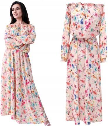 705d292d22 Promocja Lniana Sukienka Na Ramiączkach XL 42 N977 - Ceny i opinie ...