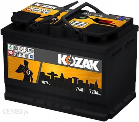 Akumulator Kozak Ko740 74ah 780a Sae 74ah Ko740 Opinie I Ceny Na Ceneo Pl