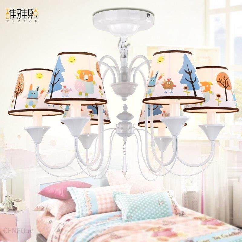 Aliexpress żyrandol Do Salonu Oświetlenie Lampy Dla Dzieci Dziewczyny Niebieski Kryształowy Ceneopl