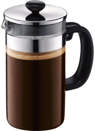 BIALETTI French Press Preziosa Srebrny
