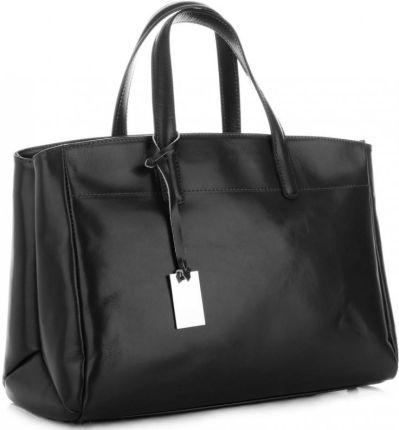 9ab0d93158988 Shopper bag torebka damska w kolorze burgundu - brązowy z odcieniem ...