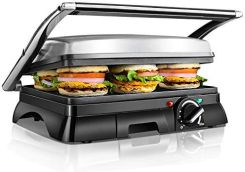 AMAZON PANINI MAKER 2000 W STAINLESS STEEL VDE