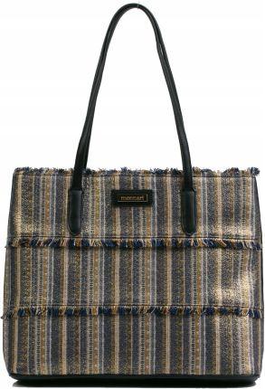 d7aa9f5bae861 Oryginalne Torby Skórzane XL VITTORIA GOTTI Shopper Bag z Etui Zamsz ...