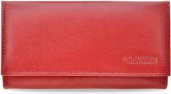532c69706e935 Klasyczny portfel damski cavaldi harmonijka skóra naturalna pudełko -  czerwony - zdjęcie 1