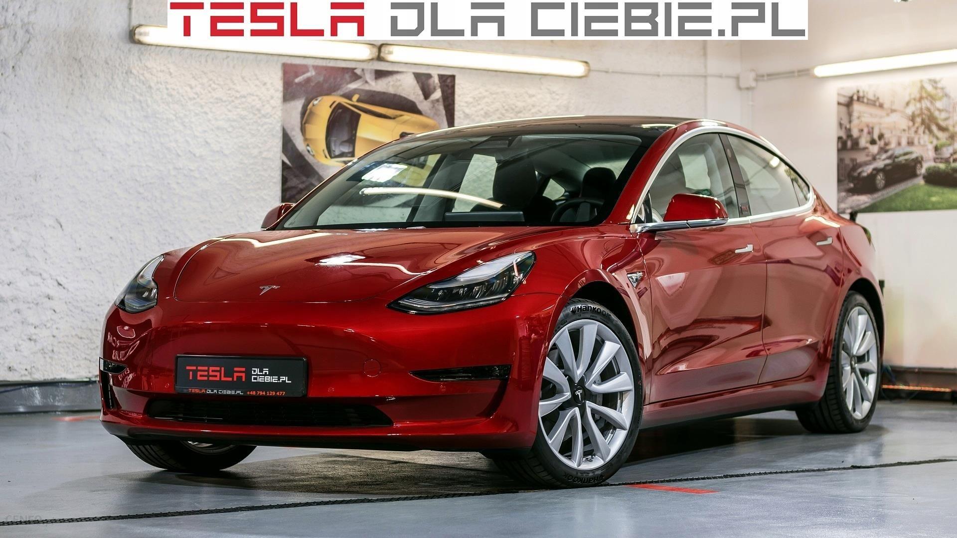 Tesla Model 3 Long Range Performance Wersja Eu Opinie I Ceny Na Ceneo Pl