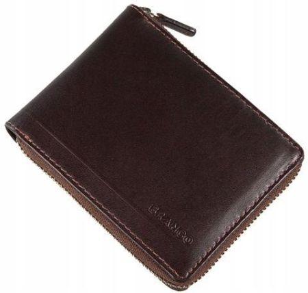 8431349ec4403 Podobne produkty do Zestaw prezentowy męski PIERRE CARDIN ZG-35 czarny -  portfel + pasek. Branco Portfel Męski 97008 Skóra naturalna brąz Allegro