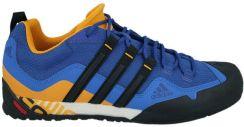 Buty Terrex Swift Solo Adidas (niebiesko pomarańczowe)