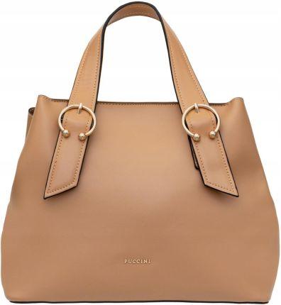 bf0ff749cd624 Vera pelle torebki skórzane na ramię a4 czerwona v19r - Ceny i ...