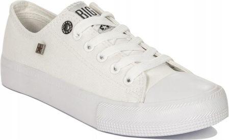 63bebf01f8518 Trampki damskie Big Star r.37 białe white AA274010 Allegro