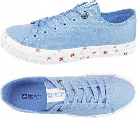 Tenisówki Big Star W274841 niebieski 40 Ceny i opinie
