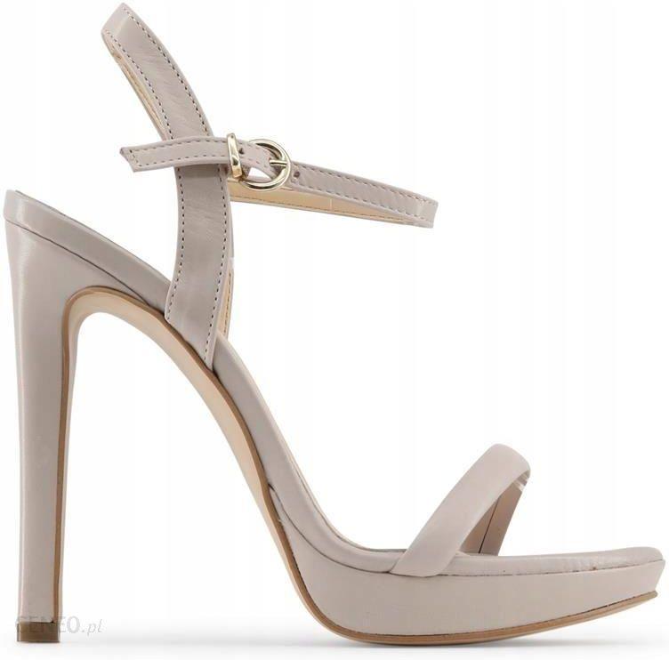 ad0af22870d55f Made in Italia sandały damskie szpilki brązowy 39 - Ceny i opinie ...