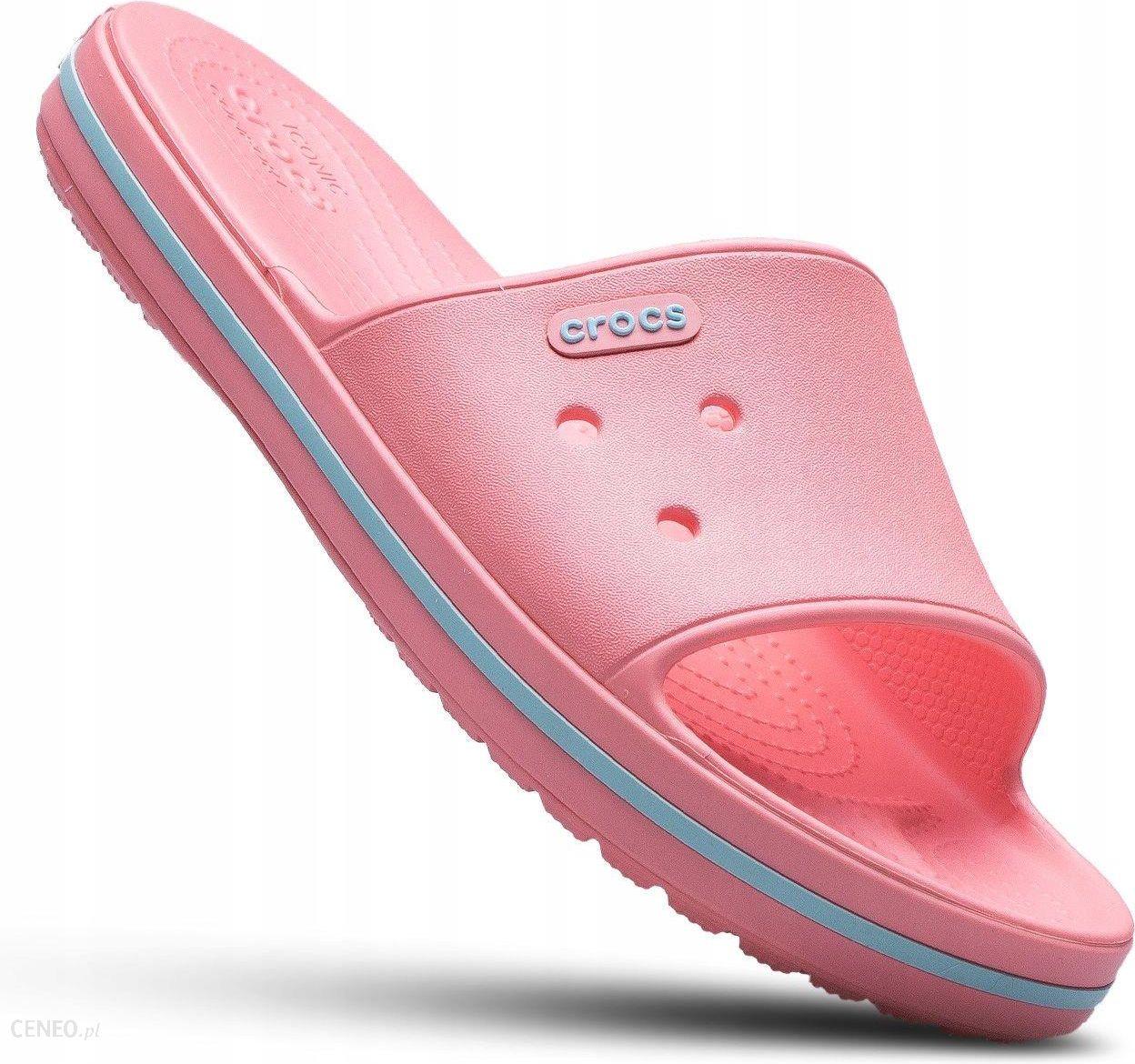 58046b9d6c8e25 Crocs klapki damskie kąpielowe basen plażę różowe - Ceny i opinie ...