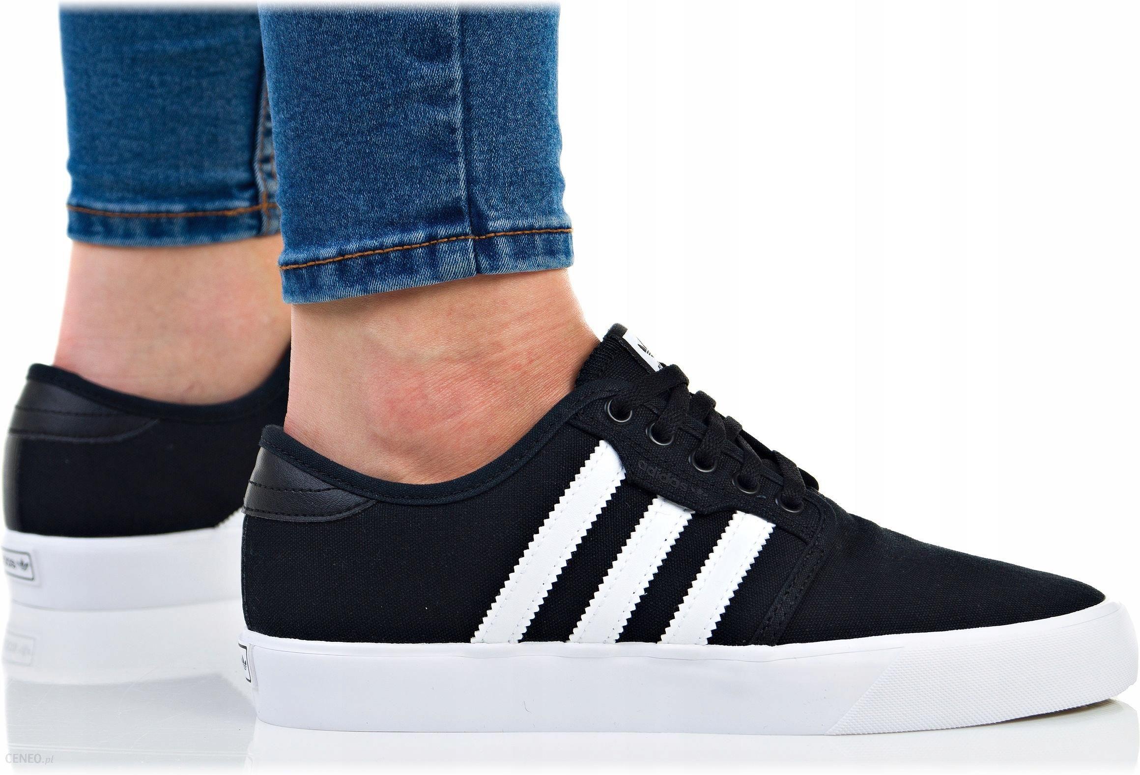 Buty Adidas Damskie Seeley J BY3838 Trampki Czarne Ceny i opinie Ceneo.pl