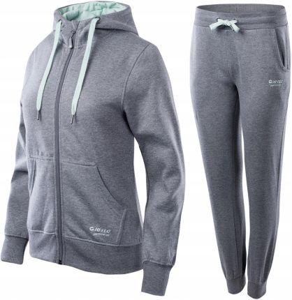 ff74fa3a079f Dres damski Sportswear Track Suit Fleece Nike (szary) - Ceny i ...