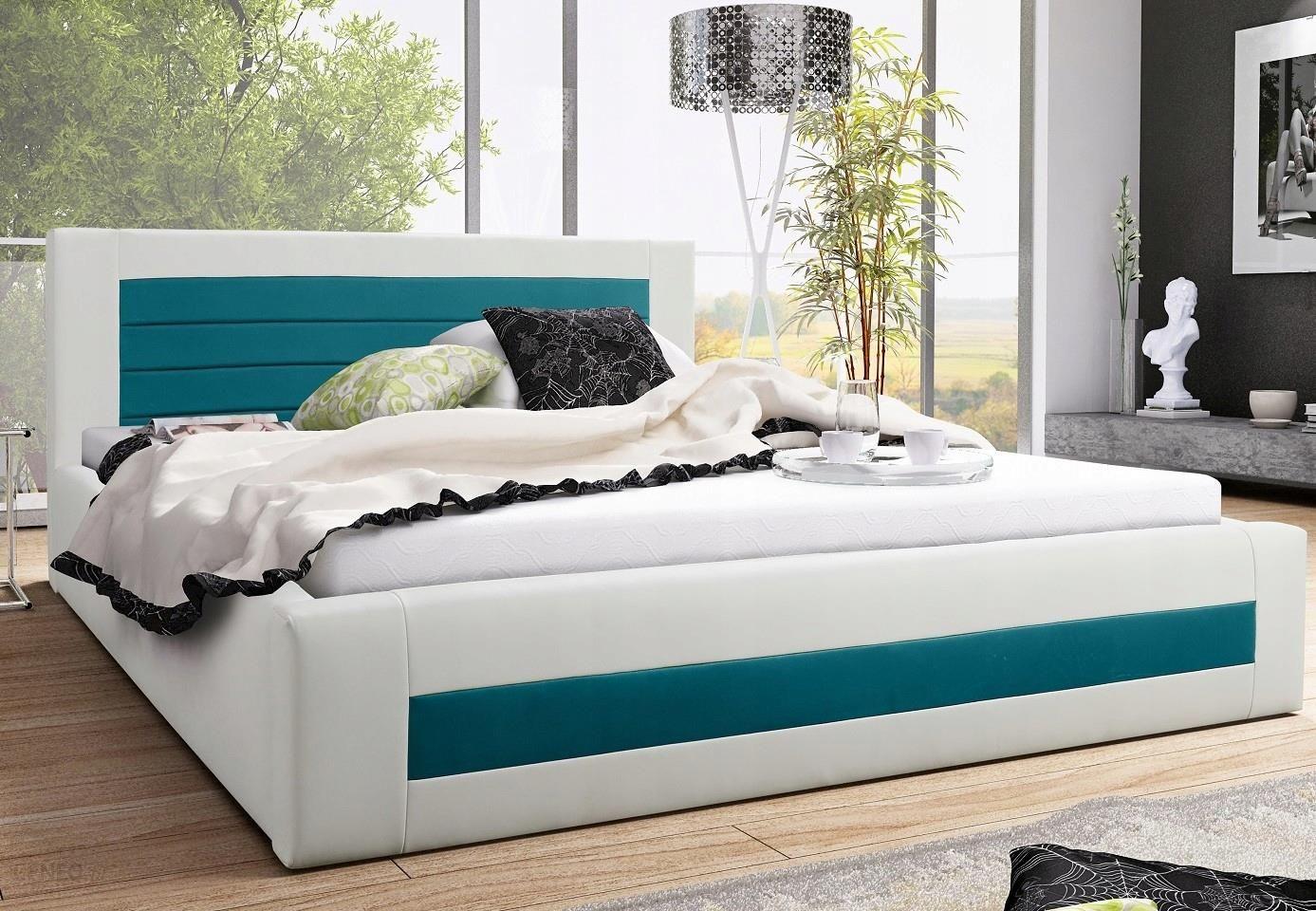łóżko Tapicerowane łoże Sypialniane Stelaż 200x200 Opinie I Atrakcyjne Ceny Na Ceneopl