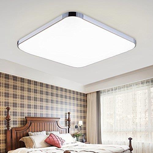 Amazon Hengda Led 36 W 48 W Energooszczędna Nowoczesna Lampa Sufitowa Do Jadalni Salonu łazienki Oświetlenie Sufitowe Ceneopl