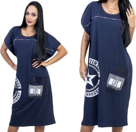 9018f6812f Klasyczna sukienka w kształcie trapezu czarna 36 S - Ceny i opinie ...
