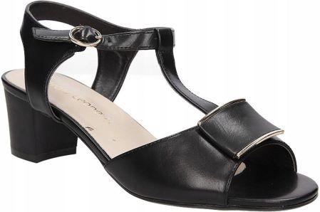 ce5b7782550b88 Czerwone sandały na niskim obcasie Sergio Leone SK806-13P - Ceny i ...