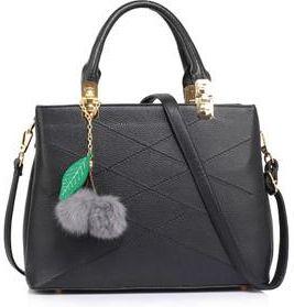 f866dcc8c68ac Anna Grace AG00537M torebka do ręki czarna + prezent do każdego zamówienia