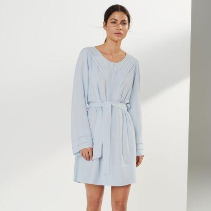 96934af3224f8a House - Sukienka z ażurowym haftem - Biały - Ceny i opinie - Ceneo.pl