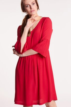 15d61d6129 Długa sukienka koronkowa góra kopertowy dekolt - Ceny i opinie ...