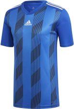 dd2be98bcd86ca Adidas Teamwear Adidas Koszulka Striped 19 Jersey Jr Niebieska - zdjęcie 1