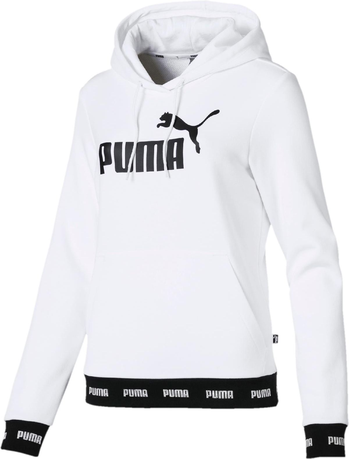 Popularne Bluza z kapturem Puma Heart T7 damska Czarny