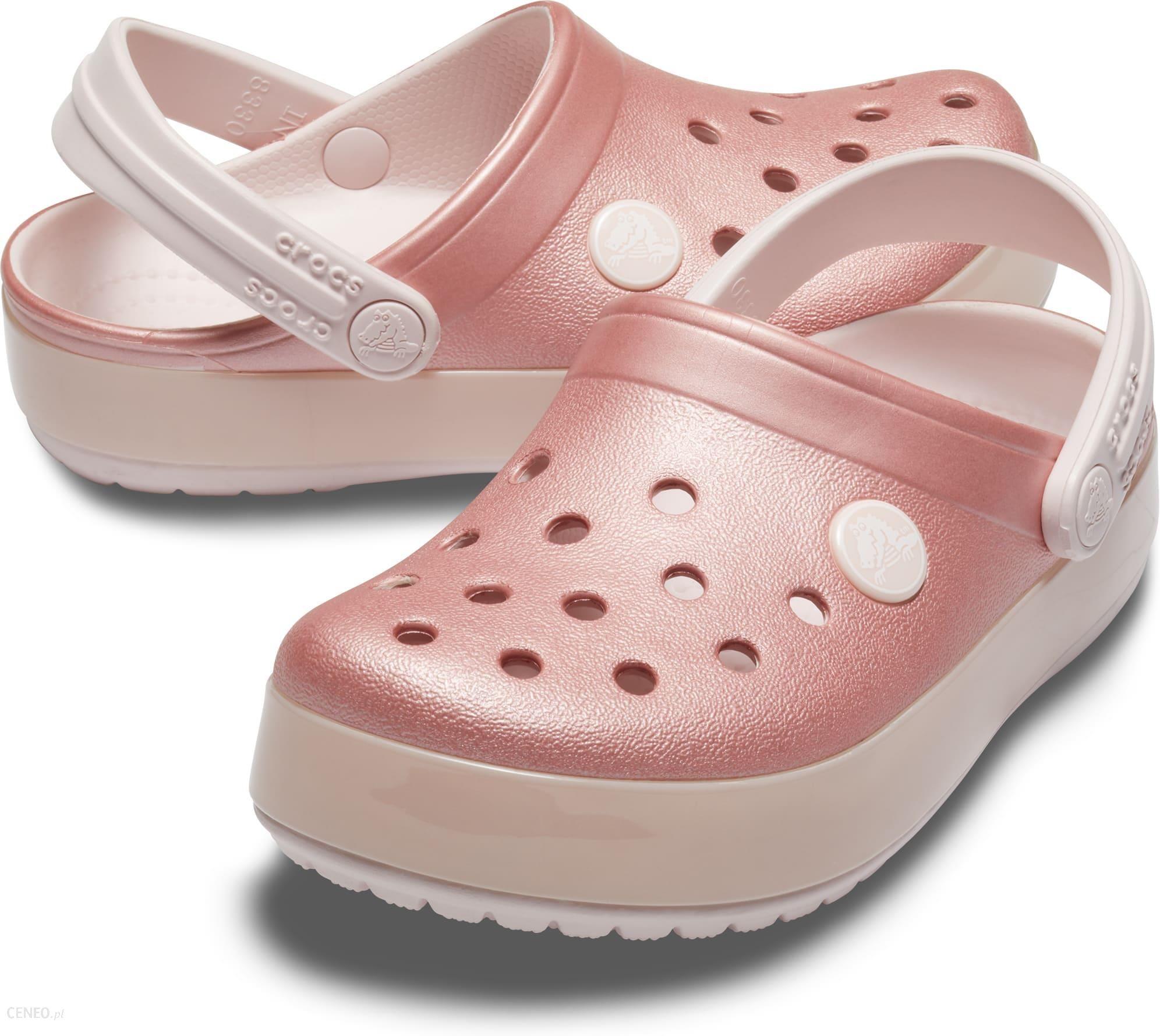 najnowsza kolekcja popularne sklepy najlepsza obsługa Crocs różowe dziewczęce buty Crocband Ice Pop Clog Barely Pink - C11 - Ceny  i opinie - Ceneo.pl