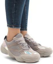 c01ecea4 Beżowe sneakersy adidasy sport buty MS522-26 38 Allegro