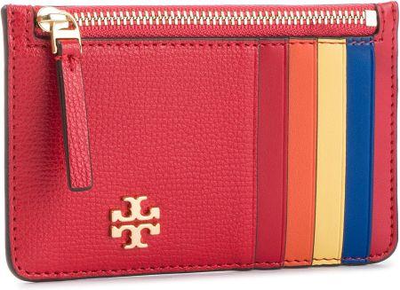 8a247486f1e29 Etui na karty kredytowe TORY BURCH - Kira Slim Card Case 54284 Brilliant  Red 612 eobuwie