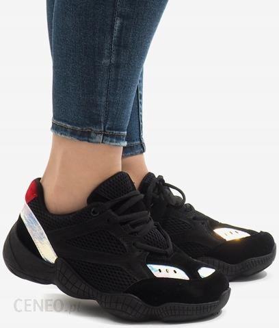 Czarne sneakersy adidasy sport buty MS522 36 Ceny i opinie Ceneo.pl