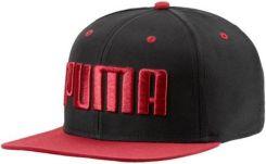 0c05d28a05c7d Czapka z daszkiem Flatbrim Puma (black red dahlia)