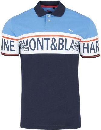 Koszulka Polo Harmont & Blaine - Ceny i opinie T-shirty i koszulki męskie LWWA