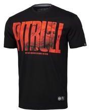 Koszulka Pit Bull Orange Dog'19 - Czarna (219034.9000) - Ceny i opinie T-shirty i koszulki męskie APQX