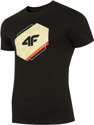 Koszulka męska t shirt czarna 4F L19 TSM010 L Ceny i