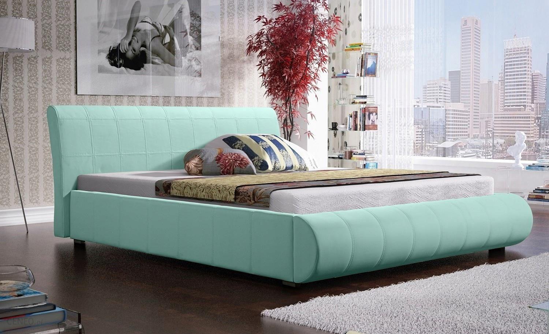 łóżko Sypialniane Tapicerowane 160x200 Małżeńskie Opinie I Atrakcyjne Ceny Na Ceneopl