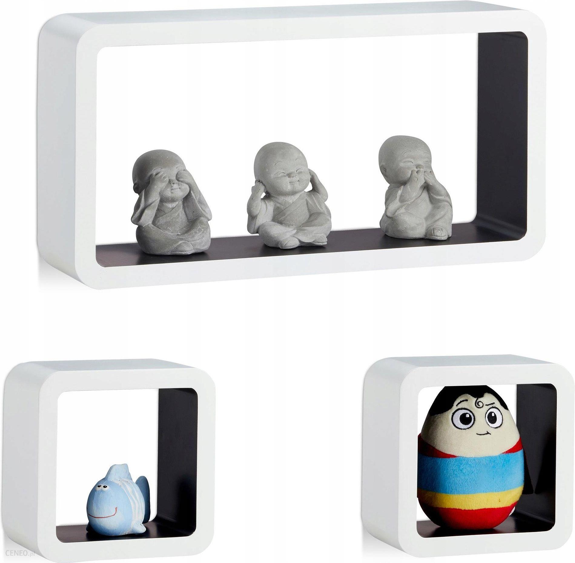 Półka ścienna Wisząca Cube Kubik Dla Dzieci 3 Szt Opinie I Atrakcyjne Ceny Na Ceneopl