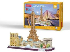Cubic Fun Puzzle 3D City Line Paris 114El.