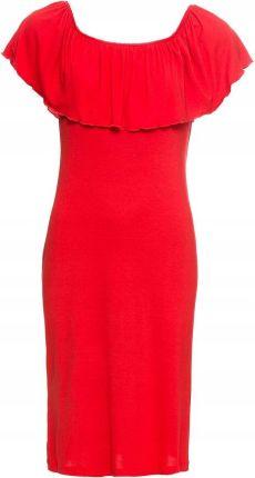 1d3265dfd1 Sukienka wizytowa Fokus Fashion - amarantowy rozmiar 40 42 44 46 48 ...
