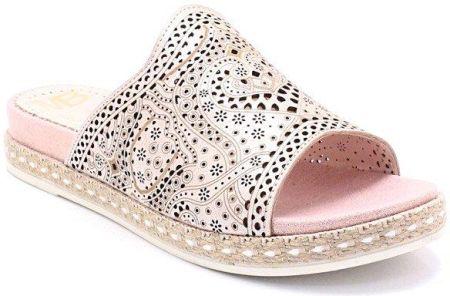 adidas adipure klapki różowe