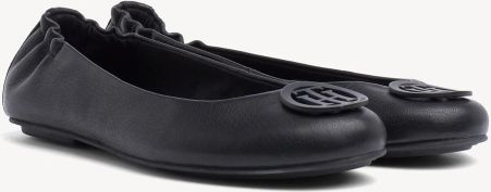 91501181ef59a Tommy Hilfiger czarne skórzane balerinki Flexible Leather Ballerina Black -  40