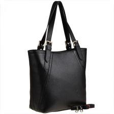 10f2db029e304 Genuine Leather Torebka skórzana shopper czarna xl genuine leather